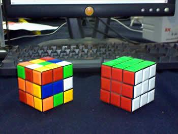1 Cubo Rubik Armado