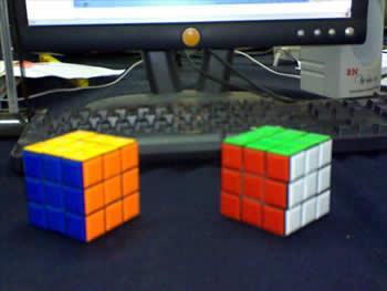 2 Cubos armados