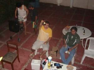 Box en la casa de Tavo